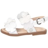 Schuhe Mädchen Sandalen / Sandaletten Florens J224320B WEISS