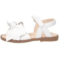 Schuhe Mädchen Sandalen / Sandaletten Florens J223510B WEISS