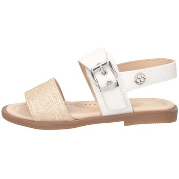 Schuhe Mädchen Sandalen / Sandaletten Florens J224528D WEISS / PLATINUM