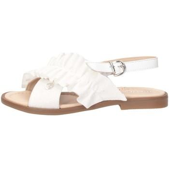 Schuhe Mädchen Sandalen / Sandaletten Florens K324126B WEISS
