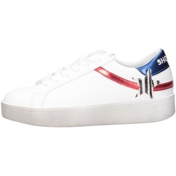 Schuhe Damen Sneaker Low Shop Art SA050126 Sneaker Frau WEISS WEISS