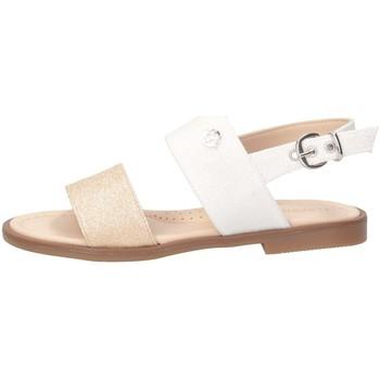 Schuhe Mädchen Sandalen / Sandaletten Florens K324528D PLATIN / WEISS