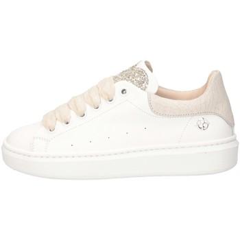 Schuhe Mädchen Sneaker Low Florens F155232D WEISS / PLATINUM