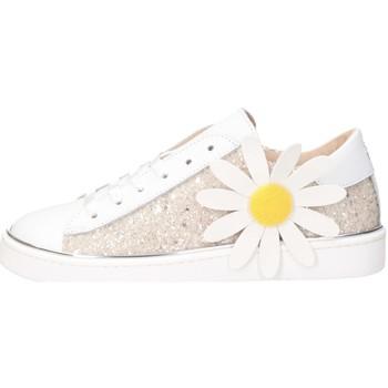 Schuhe Mädchen Sneaker Low Florens F154030C WEISS