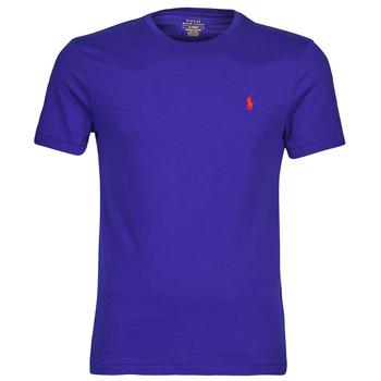 Kleidung Herren T-Shirts Polo Ralph Lauren SOPELA Blau