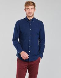 Kleidung Herren Langärmelige Hemden Polo Ralph Lauren TRENNYB Blau
