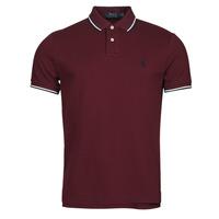 Kleidung Herren Polohemden Polo Ralph Lauren HOULIA Bordeaux