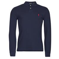 Kleidung Herren Langärmelige Polohemden Polo Ralph Lauren TREKINA Blau