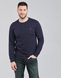 Kleidung Herren Langarmshirts Polo Ralph Lauren DRENNI Marine