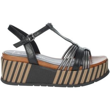 Schuhe Damen Sandalen / Sandaletten Marco Tozzi 2-28506-26 Schwarz