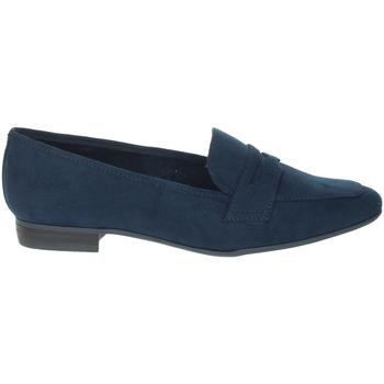 Schuhe Damen Slipper Marco Tozzi 2-24204-26 Blau