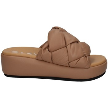 Schuhe Damen Pantoffel Strategia B37 NACKT