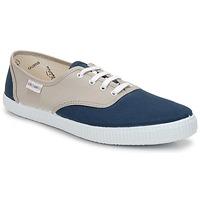 Schuhe Sneaker Low Victoria INGLESA BICOLOR Beige