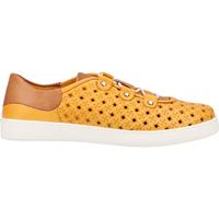 Schuhe Damen Sneaker Low Cosmos Comfort Sneaker Gelb