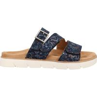 Schuhe Damen Pantoffel Relife Pantoletten Marine