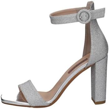 Schuhe Damen Sandalen / Sandaletten Albano 4055 Silbern