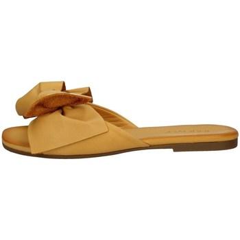 Schuhe Damen Pantoffel Inuovo 447063 GELB