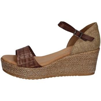 Schuhe Damen Sandalen / Sandaletten Porronet FI2650 KAFFEE'
