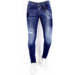 Kleidung Herren Slim Fit Jeans Local Fanatic  Blau