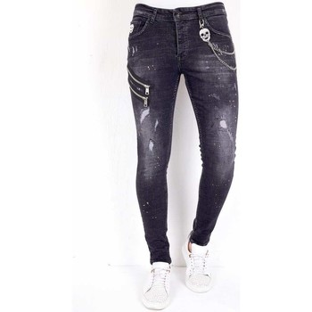 Kleidung Herren Slim Fit Jeans Local Fanatic  Schwarz