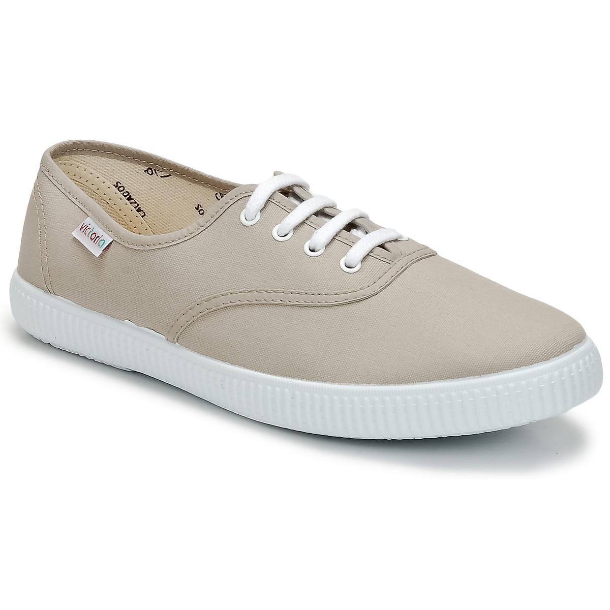 Victoria INGLESA LONA Beige - Kostenloser Versand bei Spartoode ! - Schuhe Sneaker Low  26,10 €
