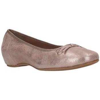 Schuhe Damen Ballerinas Calmoda 2041 CLOUDY TAUPE Mujer Taupe marron