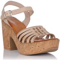 Schuhe Damen Sandalen / Sandaletten Emmshu KATYA Beige
