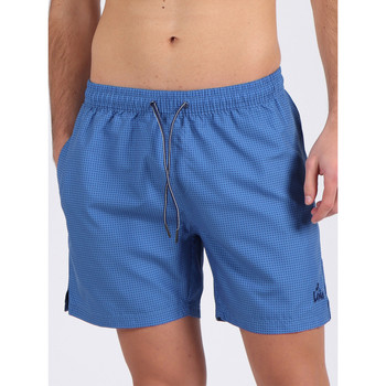 Kleidung Herren Badeanzug /Badeshorts Admas For Men Badeshorts Estructura Lois Admas Blau Marine