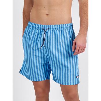 Kleidung Herren Badeanzug /Badeshorts Admas For Men Badeshorts Streifen Antonio Miro blau Admas Blau