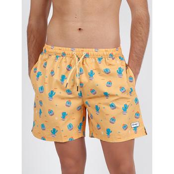 Kleidung Herren Badeanzug /Badeshorts Admas For Men Kaktus Herr Wunderbar orange Admas schwimmen Shorts Hautange
