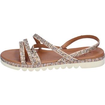 Schuhe Damen Sandalen / Sandaletten Femme Plus BJ888 Beige