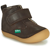 Schuhe Jungen Boots Kickers SABIO Braun