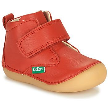 Schuhe Kinder Boots Kickers SABIO Rot