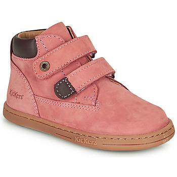 Schuhe Mädchen Boots Kickers TACKEASY Rose