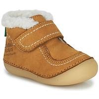 Schuhe Mädchen Boots Kickers SOMOONS Camel