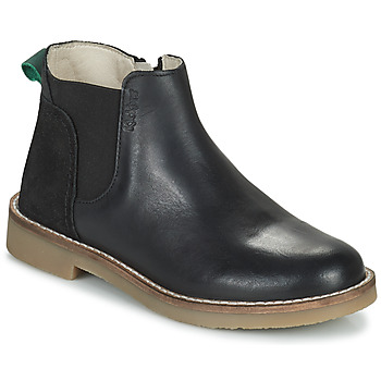 Schuhe Mädchen Boots Kickers NY KICK Schwarz