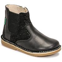 Schuhe Mädchen Boots Kickers MAELIO Schwarz