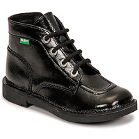 Schuhe Mädchen Boots Kickers KICK COLZ Schwarz