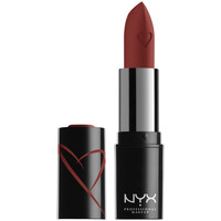 Beauty Damen Lippenstift Nyx Shout Loud Satin Lipstick hot In Here 1 u