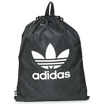 Taschen Rucksäcke adidas Originals GYMSACK TREFOIL Schwarz