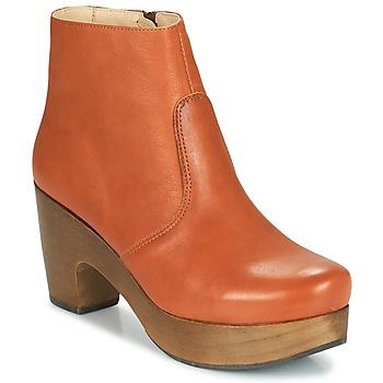 Schuhe Damen Low Boots Neosens ST LAURENT Braun