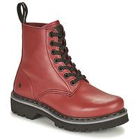 Schuhe Damen Boots Art MARINA Bordeaux