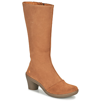 Schuhe Damen Klassische Stiefel Art ALFAMA Braun