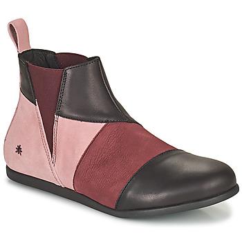 Schuhe Damen Boots Art LARISSA Violett / Schwarz