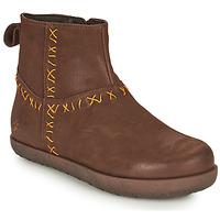 Schuhe Damen Boots Art RHODES Braun