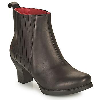 Schuhe Damen Low Boots Art HARLEM Schwarz