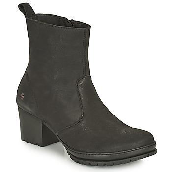 Schuhe Damen Low Boots Art CAMDEN Schwarz