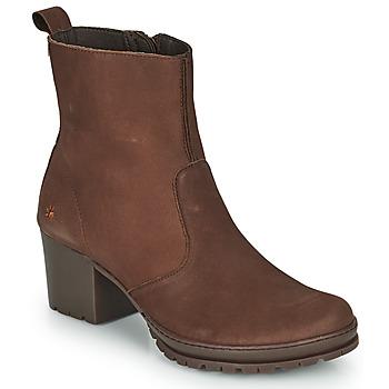 Schuhe Damen Low Boots Art CAMDEN Braun
