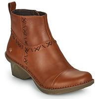 Schuhe Damen Low Boots Art OTEIZA Braun