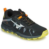 Schuhe Herren Laufschuhe Mizuno WAVE DAICHI 4 Schwarz / Orange